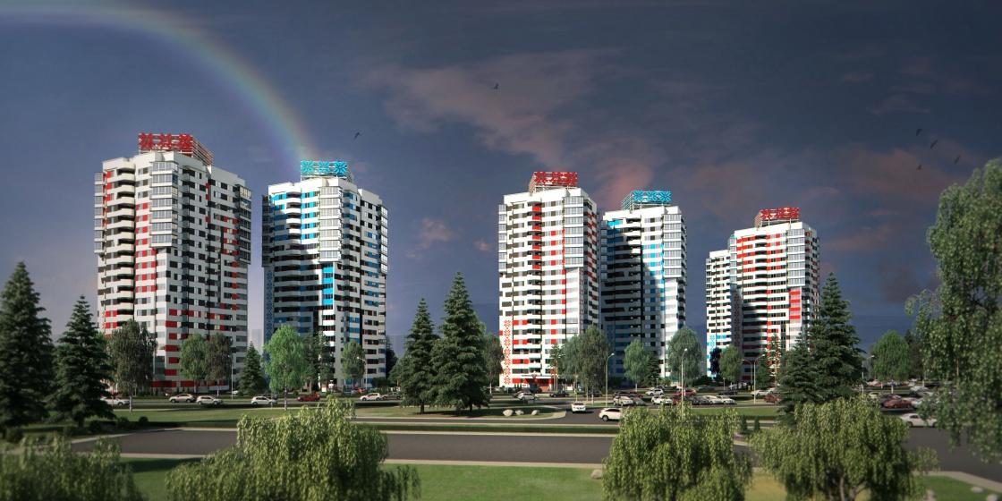 АРХИТЕКТУРНОЕ РЕШЕНИЕ Цветовое решение фасадов в беларуском стиле выделяет объект строительства среди прочих.