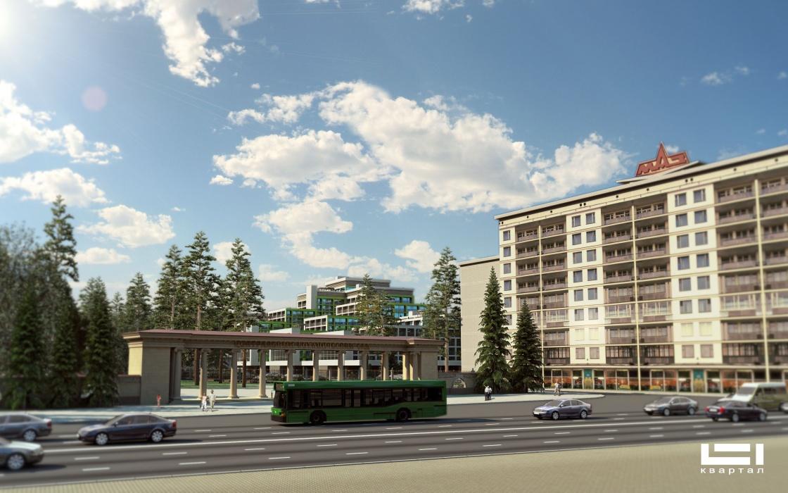 визуализация экстерьеров создание 3D анимации студия 3D графики 3d реклама недвижимости 3d анимация жилого комплекса 3d рекламная компания Продажи квартир на этапе строительства 3д анимация архитектуры ТВ реклама недвижимости